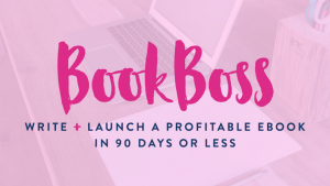 Donnie and Abby make a six-figure, full-time income from their blog, and that's largely due to sales of their e-books. Their course on writing and launching your own e-book is simply the best resource around for getting started and monetizing your blog in a big way.