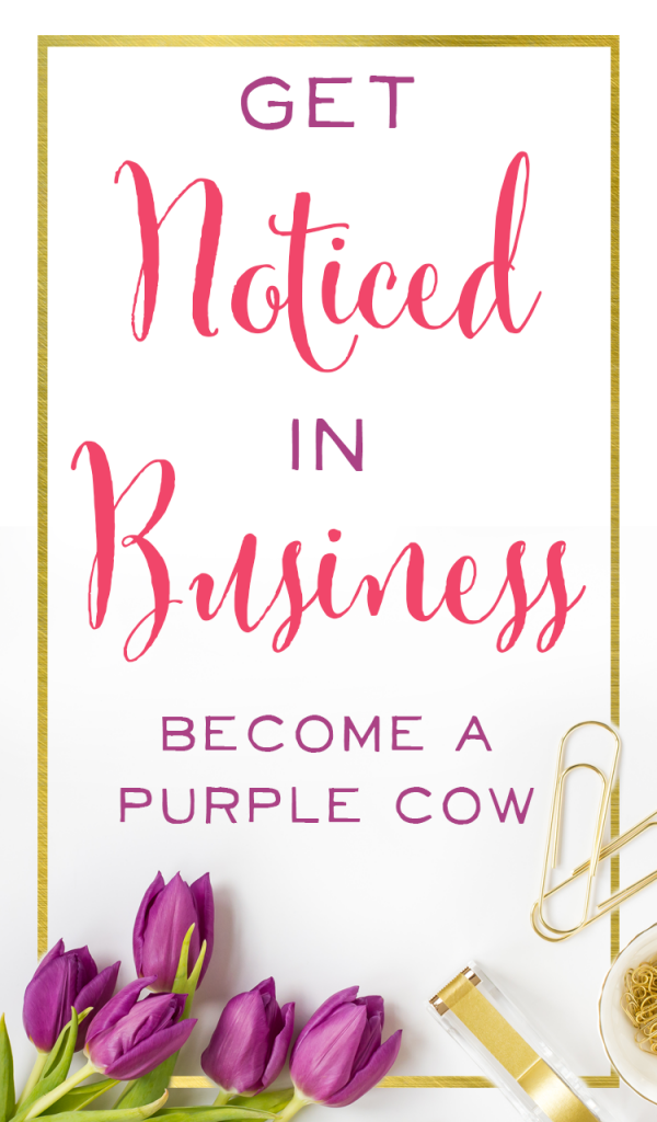 How do you stand out in business? Here's a review of Purple Cow by Seth Godin, which is full of marketing tips and business advice. This book is applicable to the mom who is just thinking about starting her business to the mom who has been in business for years.