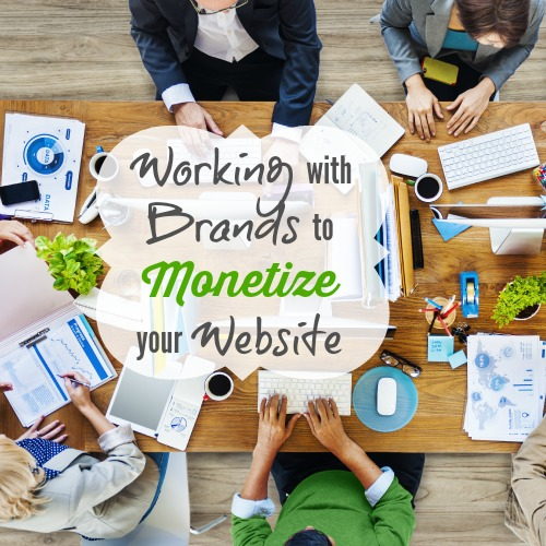 Working with Brands to Monetize your website Beth Anne shares tips for partnering with brands including how to pitch, what information to share, having a plan ready for promoting that brand as well as partnering with etsy shops to fill ad space on your website