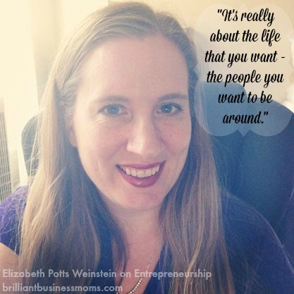 The Lawyerpreneur Elizabeth Potts Weinstein talks about entrepreneurship and creating a business that works with the life you want the most