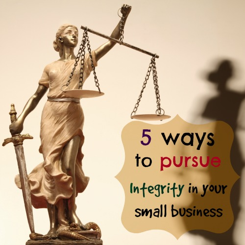 pursue integrity