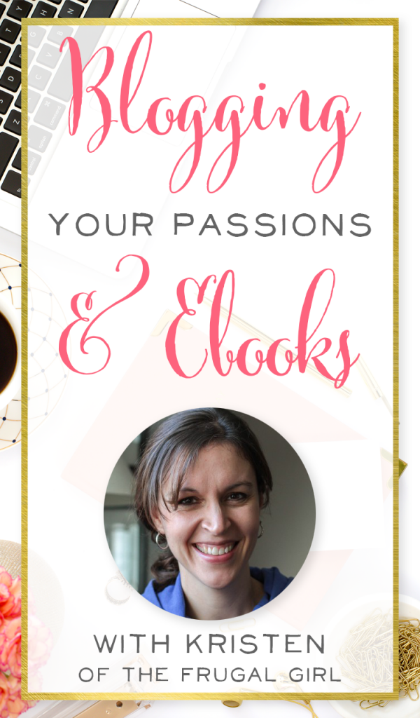 Wow, this podcast episode is packed with great blogging advice! Affiliate income tips, blogging photography tips, growing a blog, and writing an ebook withKristen, The Frugal Girl | BrilliantBusinessMoms.com