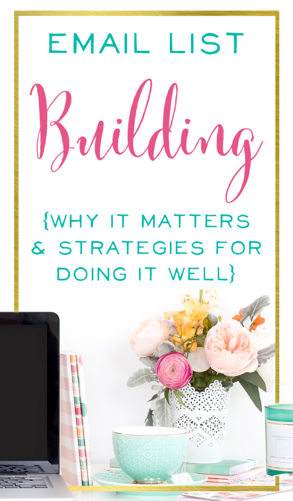 Love these email marketing strategies! Learn why you should grow your email list, plus tips for creating a killer email opt-in. Includes a link to a free ebook with 20 Brilliant Opt-In offer ideas | BrilliantBusinessMoms.com