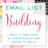 044:  Email List Building (Why it Matters + Strategies for Doing it Well)