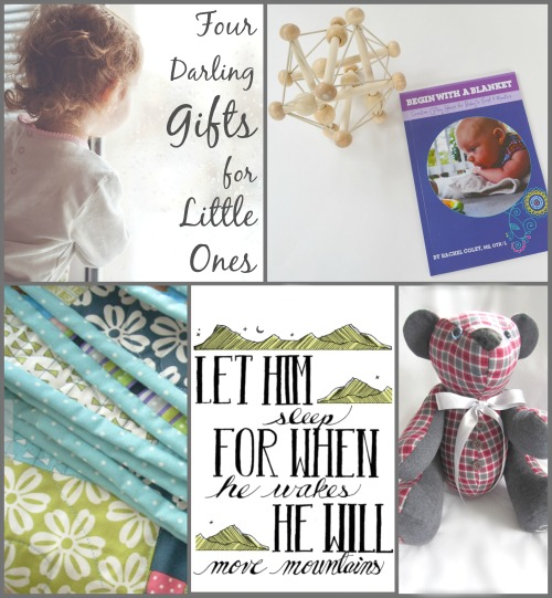 Gifts for you and your List Giveaway! Win these 4 darling, sentimental gifts for babies along with 19 other fabulous prizes! Win more entries when you refer your friends! Merry Christmas from Brilliant Business Moms