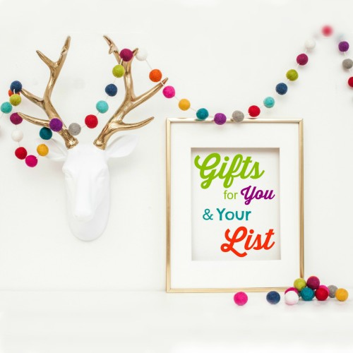 Enter to win in the Gifts for you and your List Giveaway, and discover great new ideas for unique Christmas gifts this year. Earn extra entries when you refer your friends. Merry Christmas from Brilliant Business Moms!