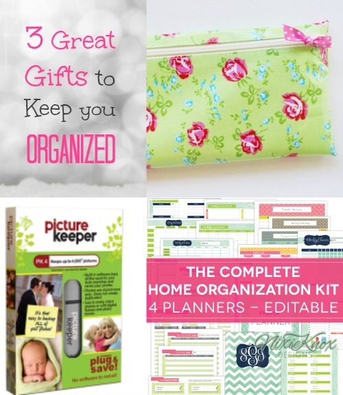 3 Great Gifts to Keep you Organized.  A photo keeper, cash wallet organizer, and organizational printables.  Win these 3 great prizes, along with 19 other fun, unique gifts by mom entrepreneuers.  Earn extra entries when you refer your friends!  Merry Christmas from Brilliant Business Moms!
