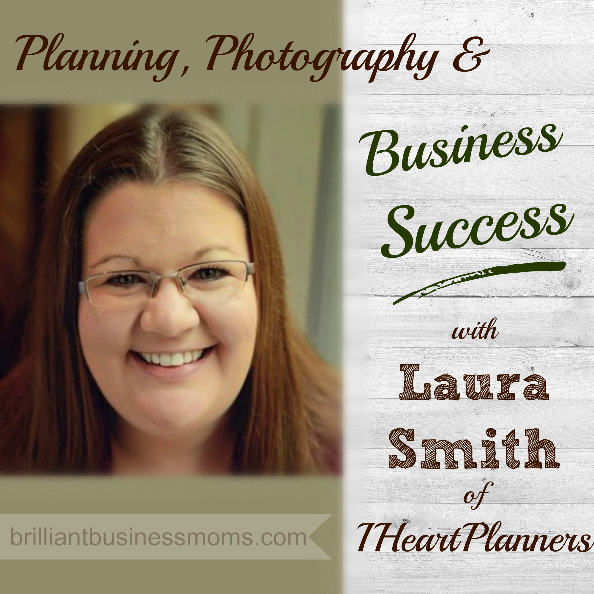 Learn from New Mom Entrepreneur Laura Smith of IHeartPlanners.com. Laura makes a living designing and selling planners, planner kits, and blogging. Hear her great tips on product photos, staying focused, and email newsletters.
