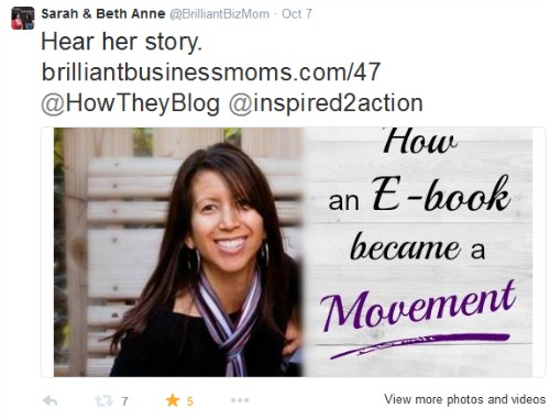 Twitter Challenge for Mom Entrepreneurs - Why Using Photos on Twitter Matters