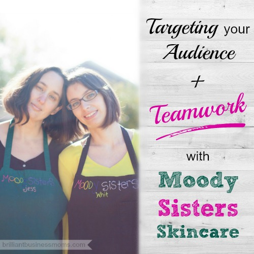 Do you struggle with defining your target audience, then knowing how to market to them? Learn from Jess and Whitney of Moody Sisters Skincare. They've built their skincare line using a test