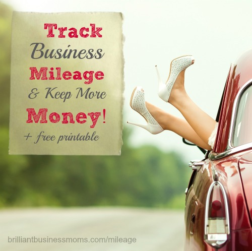 Did you know that you could save a lot of money on your taxes if you tracked your business mileage? Our resident CPA, Sarah, breaks it all down for you in easy-to-understand language. Plus, we've created a cute printable that you can stow in your car so you'll never forget to track mileage again. Grab your printable today so you don't lose another penny - it includes everything the IRS wants to see for your mileage. | brilliantbusinessmoms.com