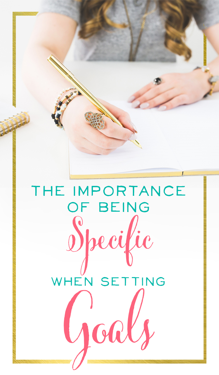 Do you struggle to tackle and achieve your biggest goals? Try being specific and breaking them down, step-by-step, task-by-task. Brilliant Business Moms shows you how - and encourages you along the way! Great tips here.