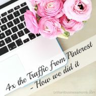 How we 4Xed our Pinterest Traffic in 3 weeks!