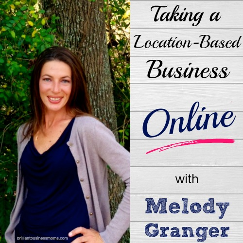 Do you have a location-based business, but you're hoping to become more independent by growing the business online? Hear Melody Granger's story. I bet you wouldn't guess that you could run and grow an organizing business over Skype! Get her best organizing tips for entrepreneurs too! | brilliantbusiinessmoms.com