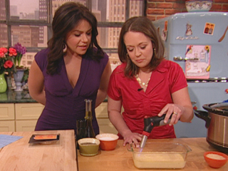 Stephanie on the Rachael Ray show!