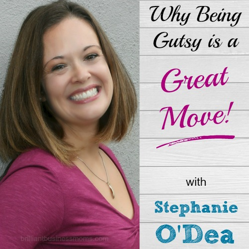 Are you afraid of rejection?  Do you hope that someone will choose you for a magazine feature, TV spot, or that guest post you've been coveting.  It's time to take Stephanie O'Dea's advice and quit sitting around.  Make things happen for yourself!  Hear this mom blogger, crockpot365 expert, and successful author's story, and learn how to overcome your fears and make a gutsy move!  |  brilliantbusinessmoms.com