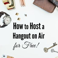 How to Host a Hangout on Air for Free!