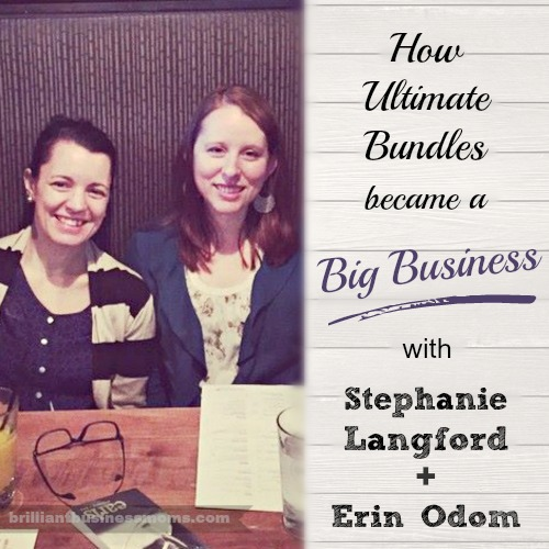 Love these two ladies!  They're brilliant, hard-working, and they with their spouses have built a crazy-big business doing e-book bundle sales.  A must-listen with some great business advice.  |  brilliantbusinessmoms.com