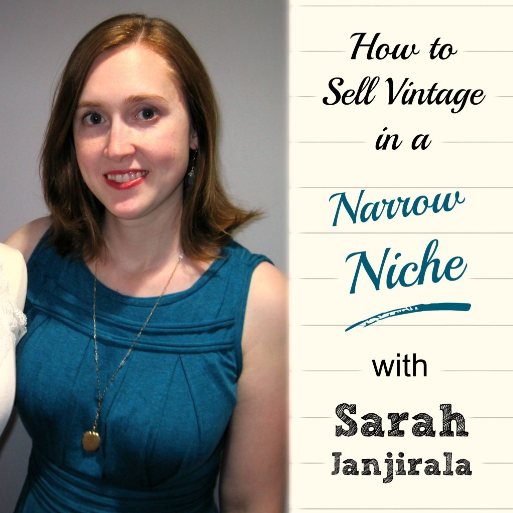 Love this business idea.  Sarah Janjirala sells only antique lockets in her shop, and she's awesome at it!  Great interview.  |  brilliantbusinessmoms.com/95
