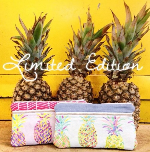 Better Life Bags Limited Edition Pineapple Print - so cute! Loved this interview about the business too.