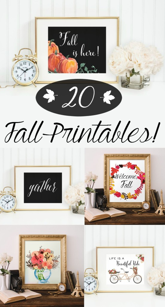 image regarding Printable Fall Pictures titled 20 Absolutely free Drop Printables (that are definitely Excellent!)