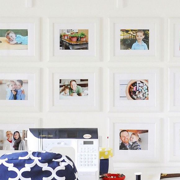 Kim VanSlambrook's Craft and Sewing Room for her Handmade Business