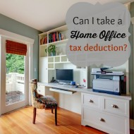 Can I take a Home Office Tax Deduction?
