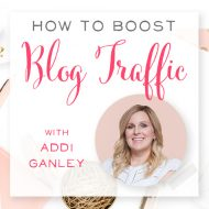 How to Boost Blog Traffic + Audiobooks with Addi Ganley