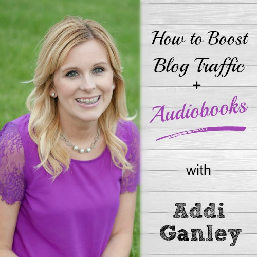 "Great tips for reviving a blog and taking from ""ok"" into a success with more blog traffic. Plus - getting your book into audiobook format is a lot easier and cheaper than I thought it would be! 