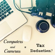 Computers and Cameras = Tax Deduction?