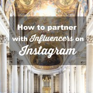 How to Partner with Influencers on Instagram to Market your Business