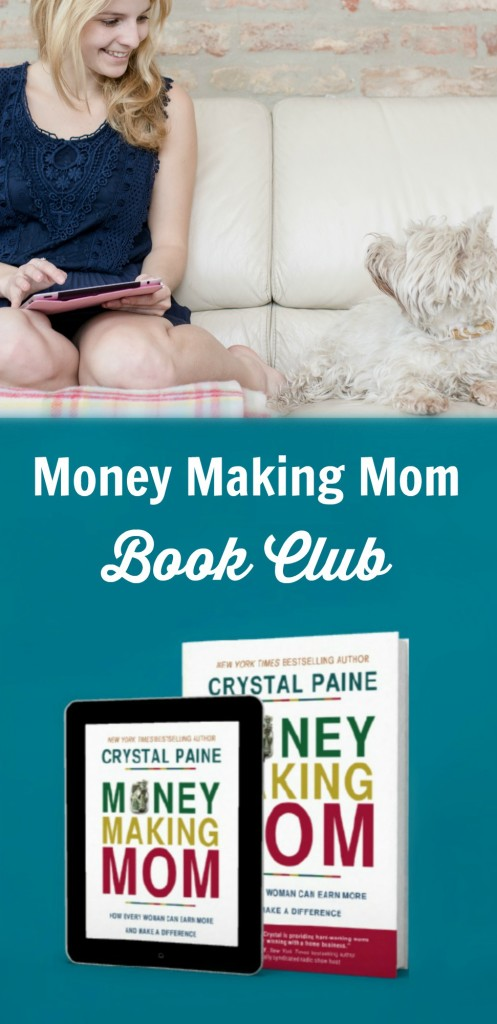 Money Making Mom Book Club: So excited for this book! Crystal is such a role model - love her focus on giving. | brilliantbusinessomms.com