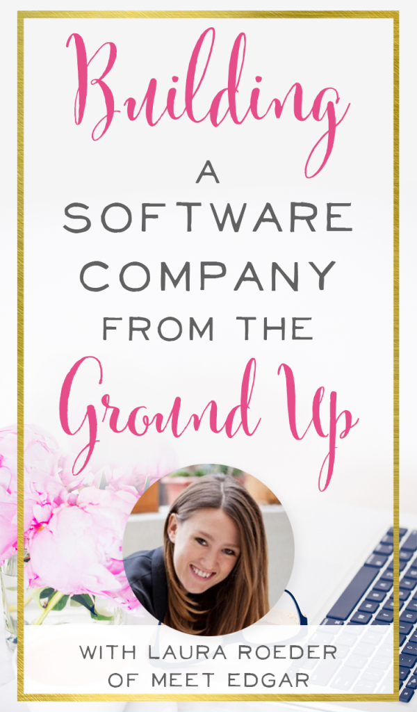 Such an inspiring story! And a great look at how Laura Roeder of Meet Edgar built a software company to seven figures from the ground up. She has some fantastic social media marketing advice on the podcast | BrilliantBusinessMoms.com