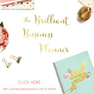 The Little Time Management Tip that Changes Everything!  Plus the 2016 Brilliant Business Planner!