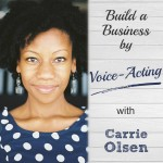 What an interesting business idea! Loved this story from Carrie Olsen. She's a voice actor, and she's able to book gigs on national TV commercials, for online training, audiobooks, and so much more. What a fun business voice-over work would be. | brilliantbusinessmoms.com
