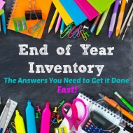 End of Year Inventory – the answers you need to get it done fast!