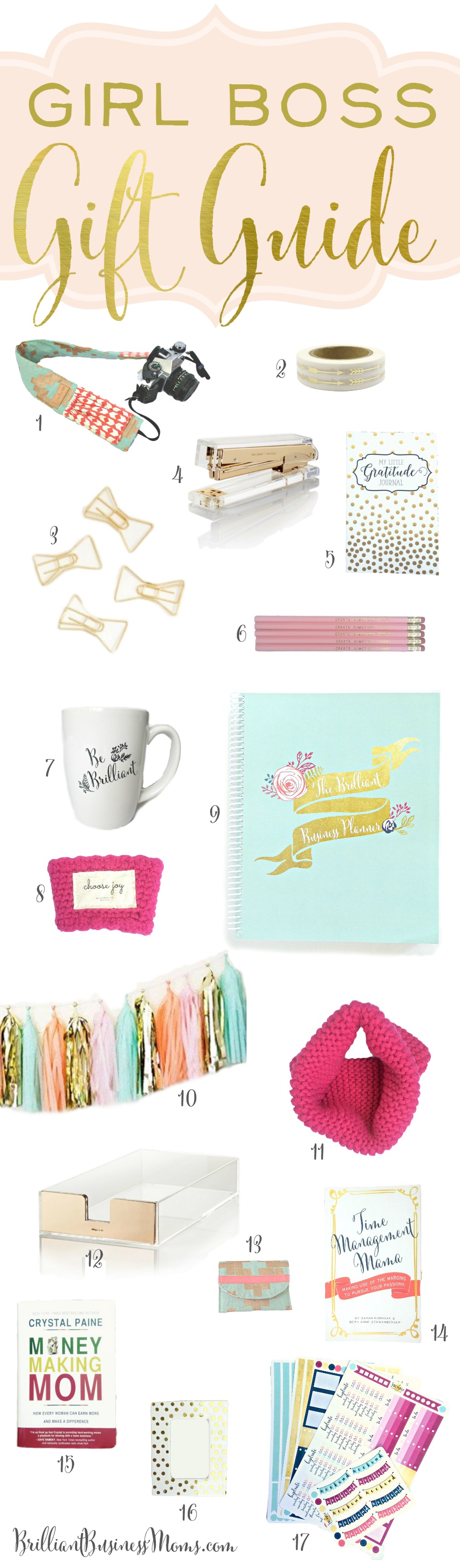 girl boss gift guide for christmas 2015 plus a giveaway great ideas for entrepreneurs