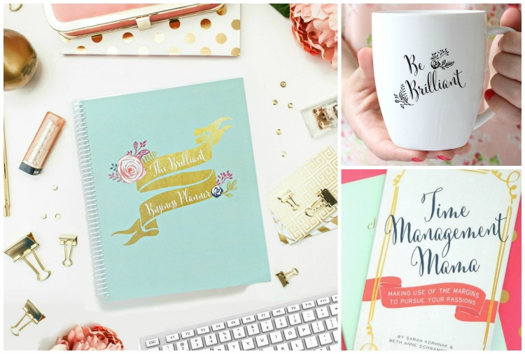 Girl Boss Giveaway: The Brilliant Business Planner, Be Brilliant Mug, and Time Management Mama Book