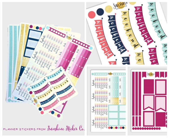 Planner Stickers Sunshine Sticker Co. STickers for the Brilliant Business Planner