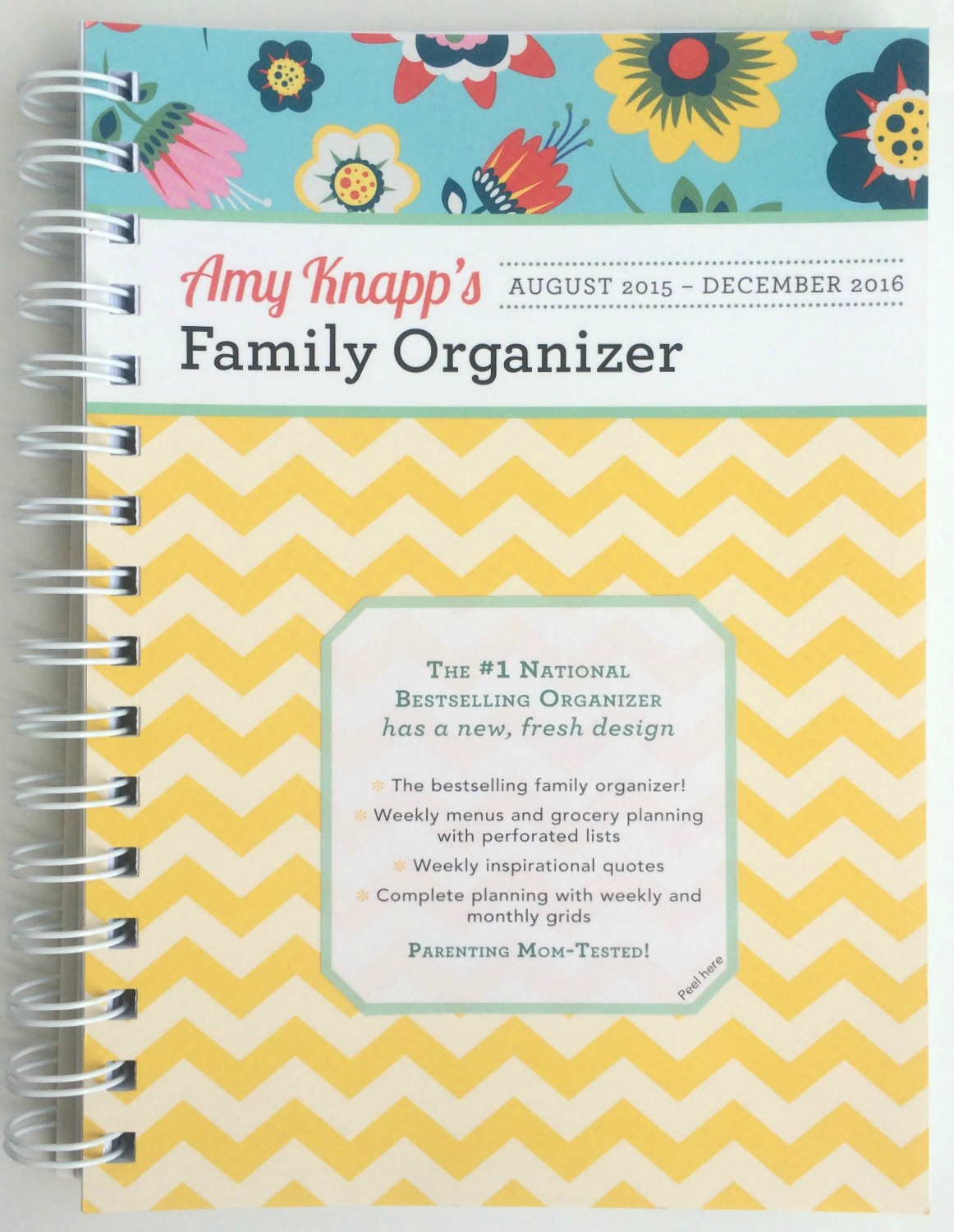 How to pick the planner that's right for you - this one is Amy Knapp's Family Organizer - 2016 Planner Reviews