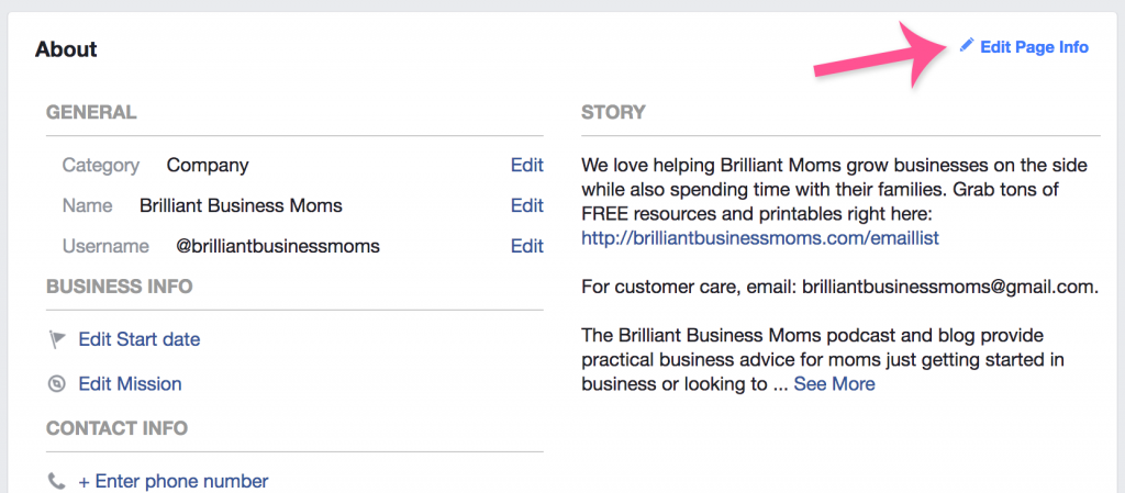 Love these strategies for growing your email list with Facebook! These Facebook business tips work for bloggers and shop owners.   Brilliant Business Moms
