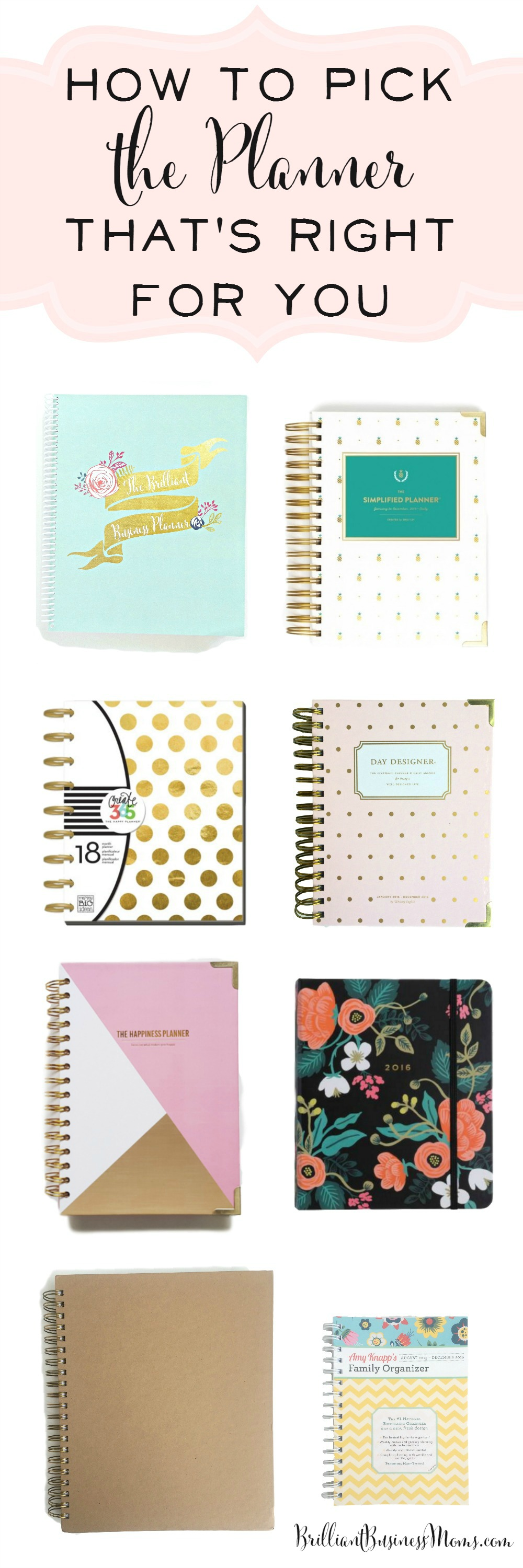 how to pick the planner that s right for you