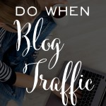 Great advice for overcoming low blog traffic. Blogging tips - and when you should head outside of your blog to make an impact elsewhere. I hadn't heard most of these ideas before! | brilliantbusinessmoms.com