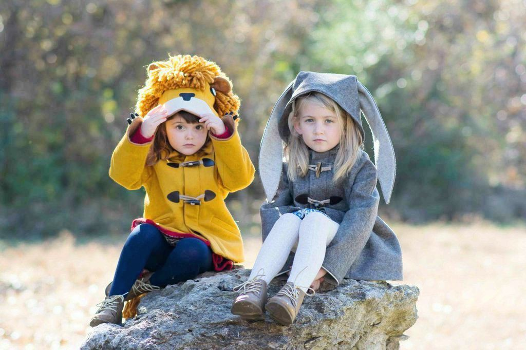 How adorable are these coats by Little Goodall?!