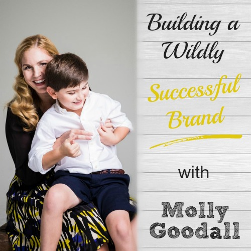 Amazing! I love this podcast episode about talented designer and handmade seller Molly Goodall. Her children's coats are to-die-for! Etsy Seller Tips | brilliantbusinessmoms.com