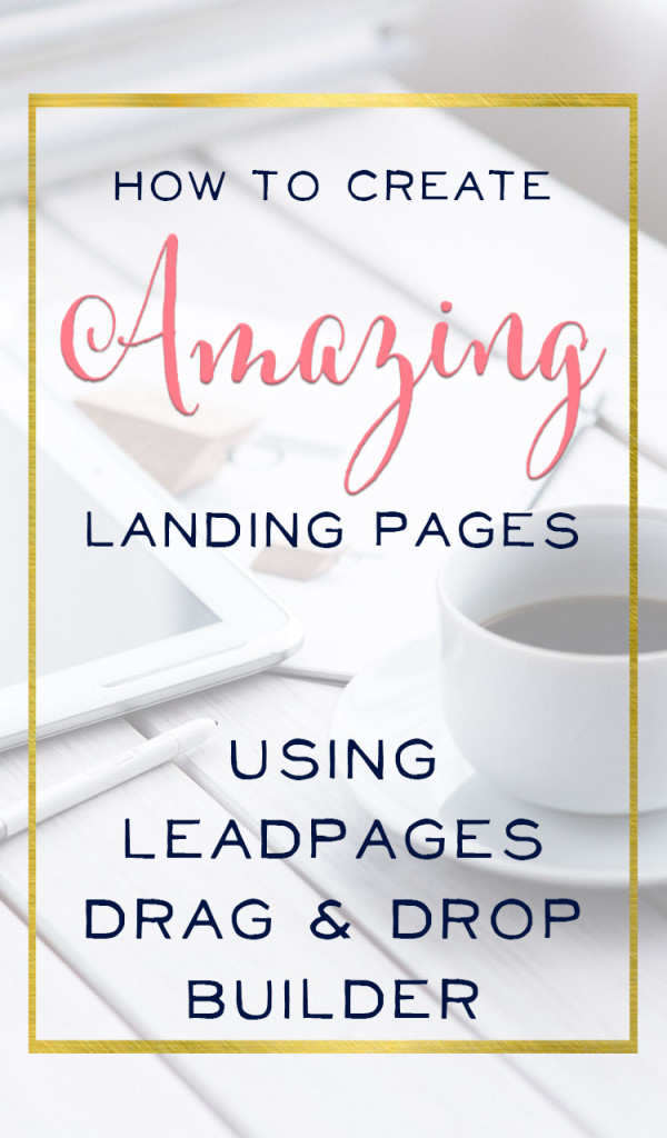 Finally, a practical post that will help me grow my business. Brilliant Landing Page Tutorial so you can create a custom page for your biz. | brilliantbusinessmoms.com