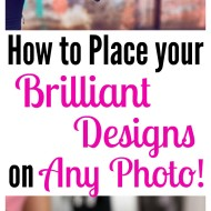 How to Place your Brilliant Designs on Any Photo! (a Photoshop Tutorial!)