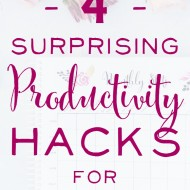 4 Surprising Productivity Hacks for Mompreneurs