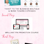 SO EXCITED about this Business Giveaway! Not only can I win a conference ticket - but travel expenses too!   CLICK HERE to enter!