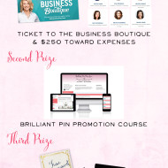 A Brilliant Business Giveaway!  Seriously – this one is so good!